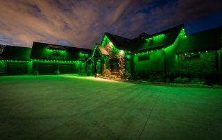 All green Trimlights