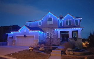 All blue Trimlights