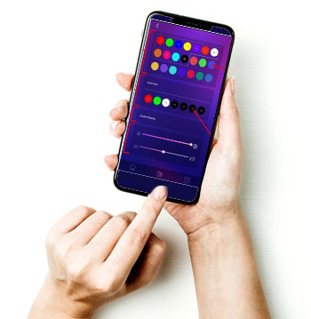control lights with smart phone